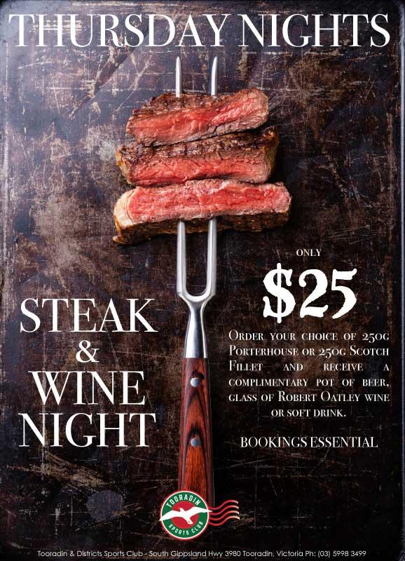 Thursdays-Steak-Night