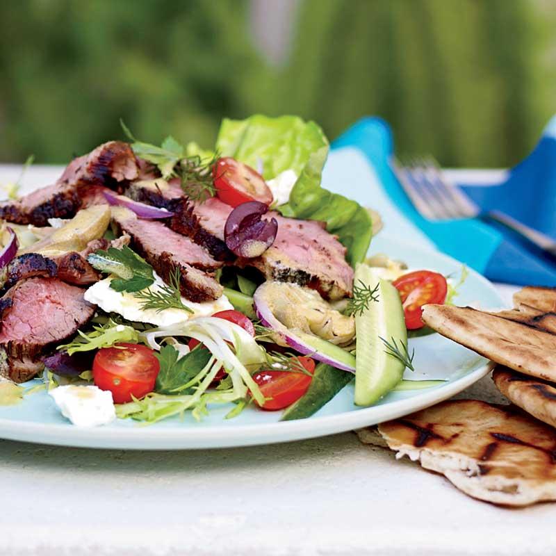 lamb-salad