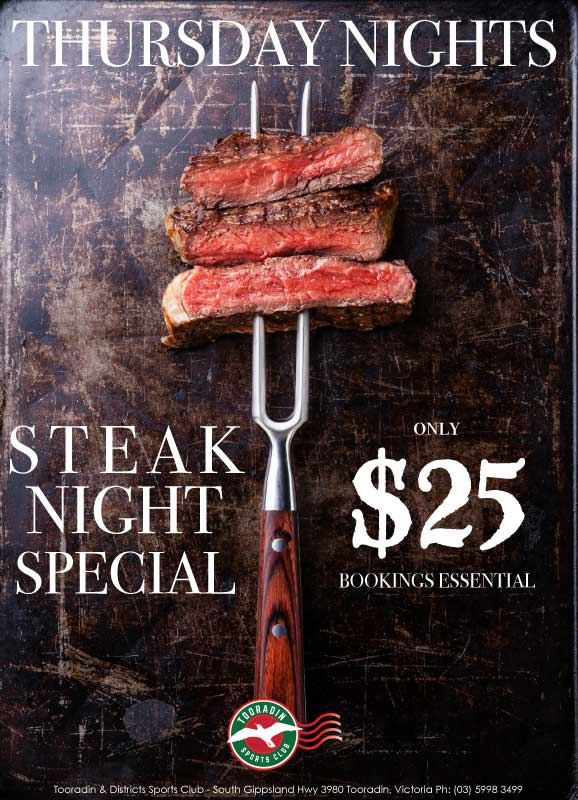 Tooradin-Thursdays-Steak-Night