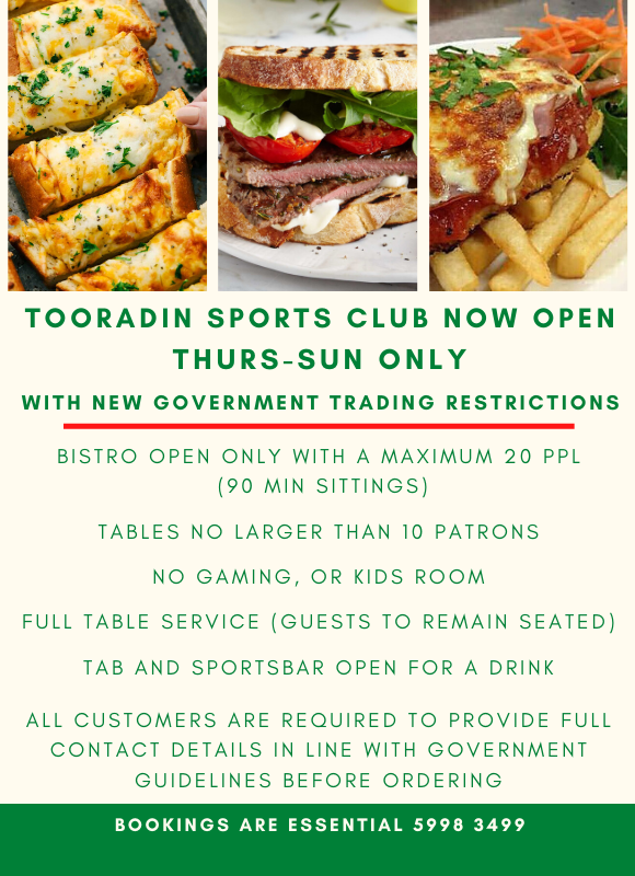 Copy of Tooradin Sports Club Presents